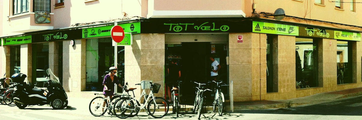 Tot Velo, sale and bike rental in Ciutadella de Menorca